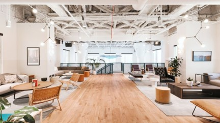 Contemporary Coworking Center along Via Turati