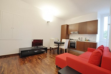 Two bedrooms furnished flat along the Navigli
