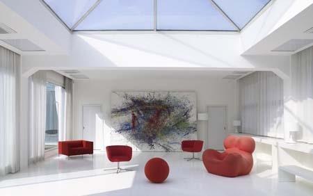 Office Rent Milan: Ufficio-showroom al piano attico circondato da terrazzo