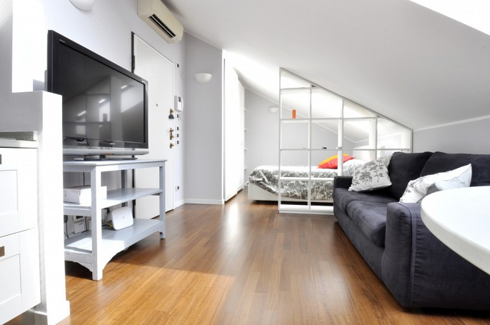 Brera Rent: Studio Flat realized by architect