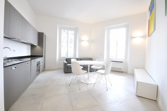 Brera Rent: Recently renovated two bedrooms flat few steps from Fondazione Prada