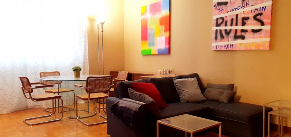 Brera Rent: Large One Bedroom Flat few steps from Duomo