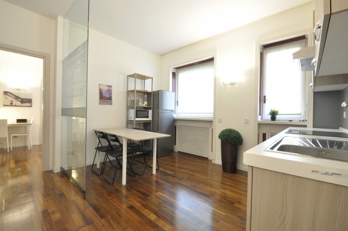 Brera Rent: Newly renovated flat with four bedrooms