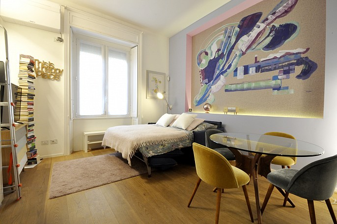 Brera Rent: Design Studio Flat in Porta Romana