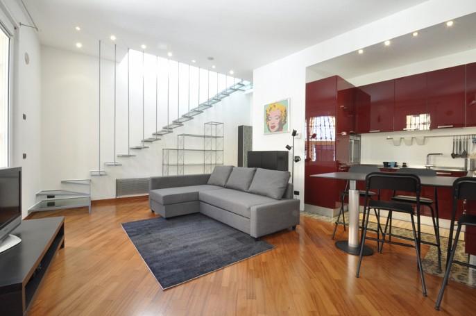 Brera Rent: Luxury loft over two levels in Porta Venezia