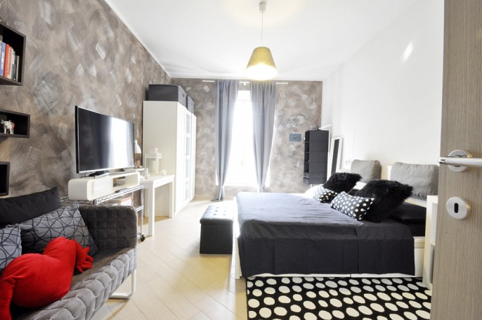 Brera Rent: Renovated one bedroom at the top floor, located few steps from Bocconi