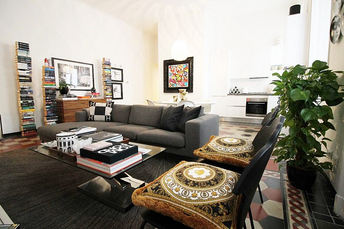 Brera Rent: Large one bedroom flat next to Piazza Tricolore
