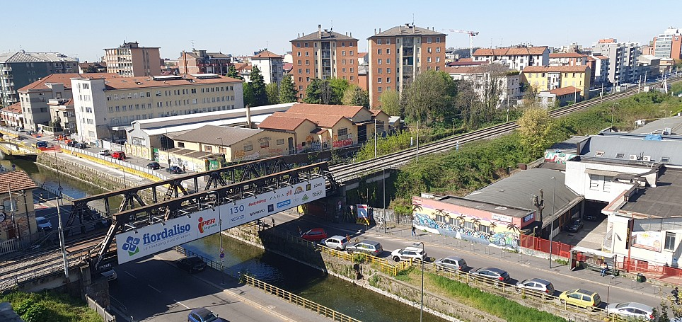 Brera Rent: Renovated two bedrooms flat with panoramic views