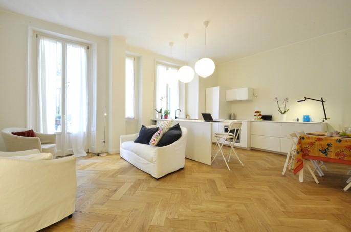 Brera Rent: Elegant One Bedroom flat newly renovated