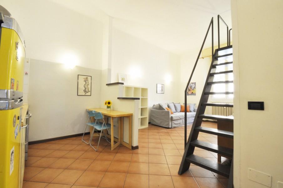 Loft-style flat along Via Ripamonti