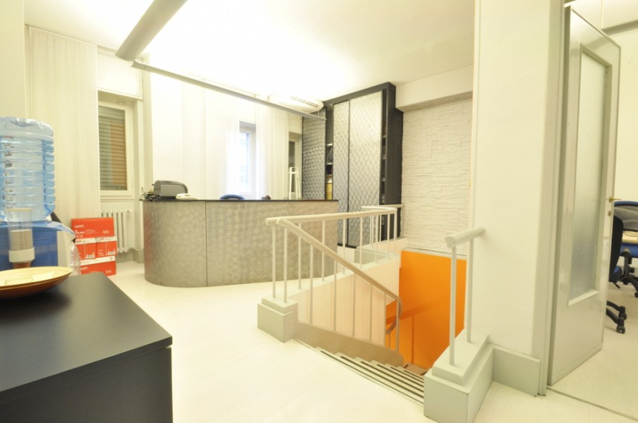 Renovated office space in Tortona