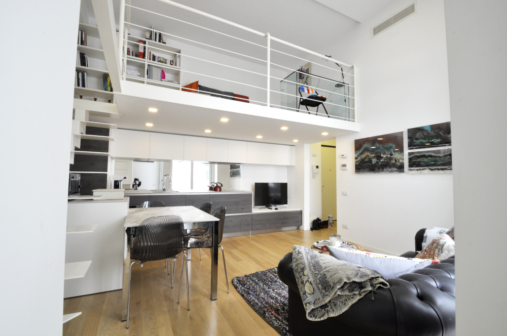 Marangonirent: Luxury One Bedroom flat with lofted studio space