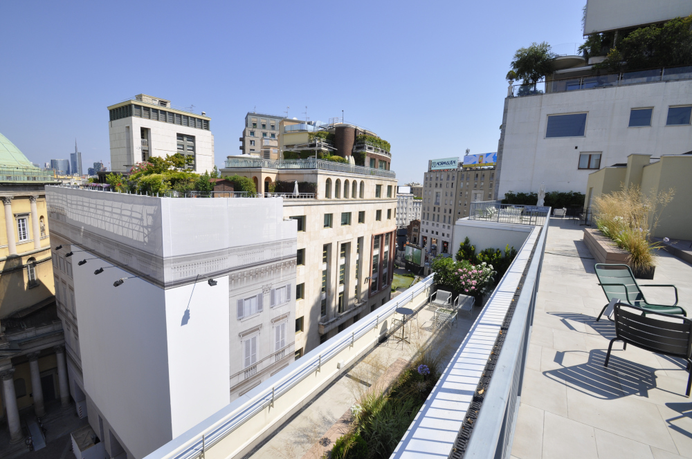 Office Rent Milan: Contemporary Coworking Building in San Babila