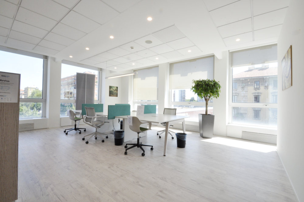 Office Rent Milan: Contemporary Coworking and Business Residence in Washington