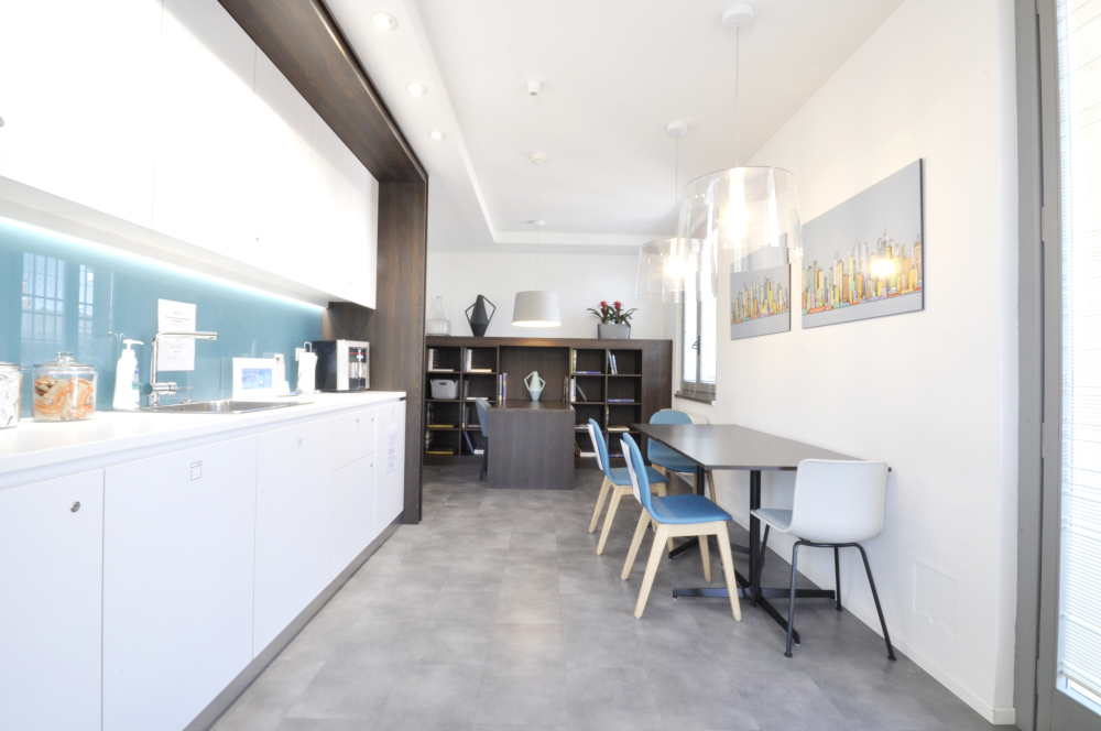 Office Rent Milan: Elegant Business Residence in Via Dante