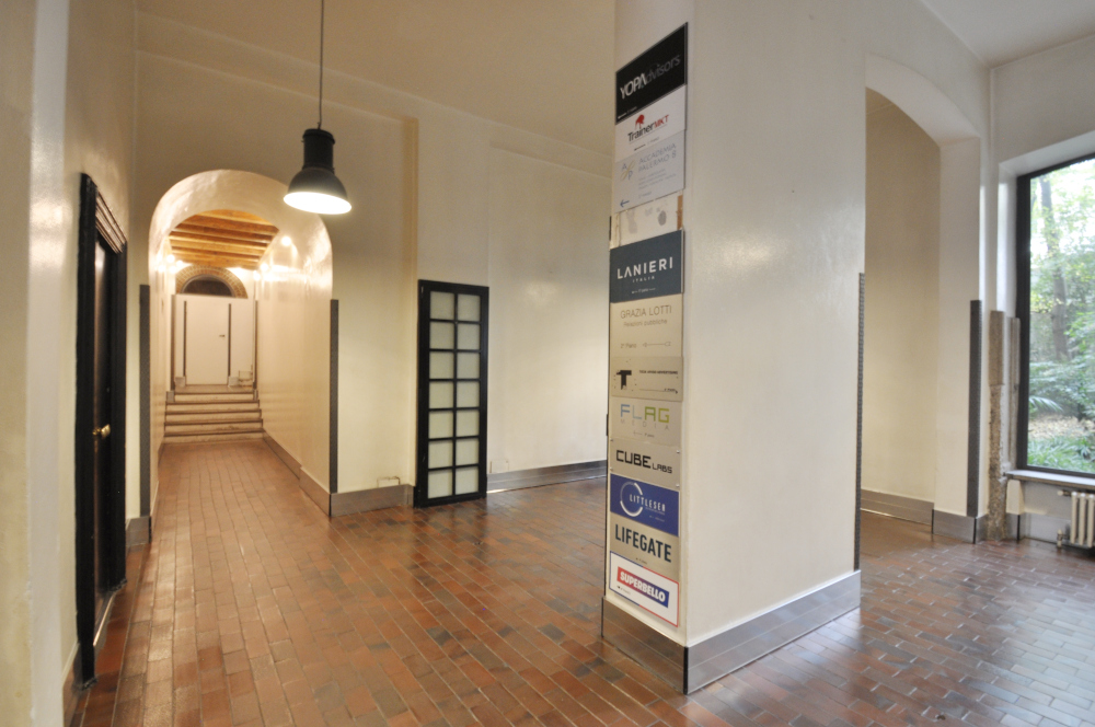 Office Rent Milan: Large office space in the heart of Brera