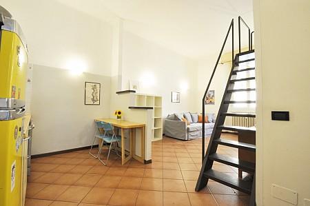 Marangonirent: Loft-style flat along Via Ripamonti
